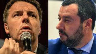 """""""Via il coprifuoco"""", Renzi e Salvini d'accordo"""